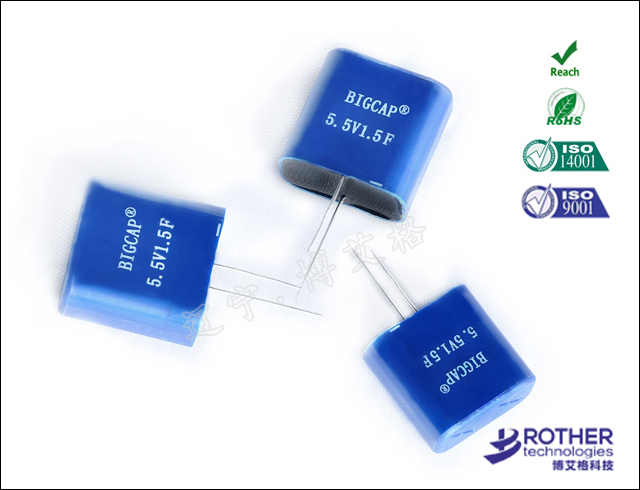 Fully encapsulated super capacitor series-BMP series