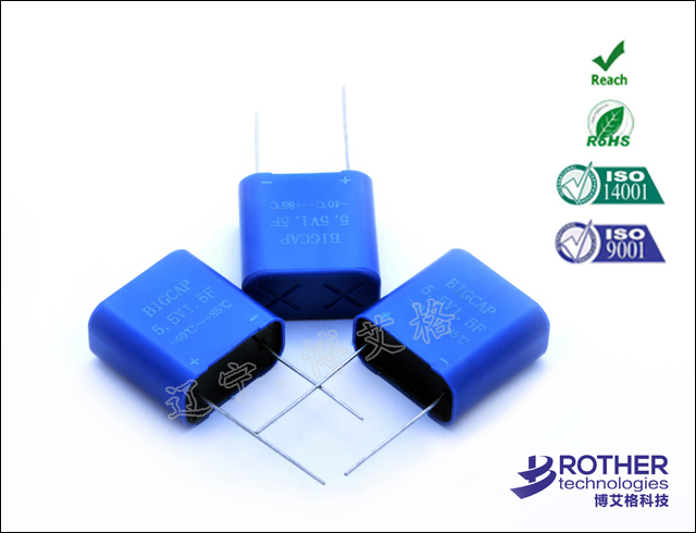 Fully encapsulated super capacitor series-BMTseries